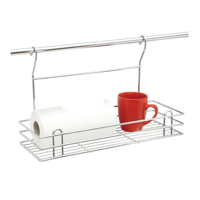 Bathroom Hanging Organizer Rack With Wire Chromed Finished