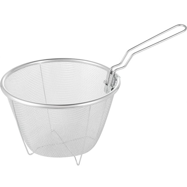 Food Grade Stainless Steel Chips Deep Fry Baskets Cooking Tool